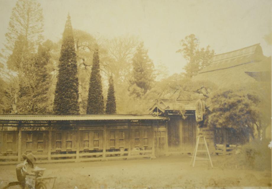 >明治45年創業の老舗造園屋。イメージ画像